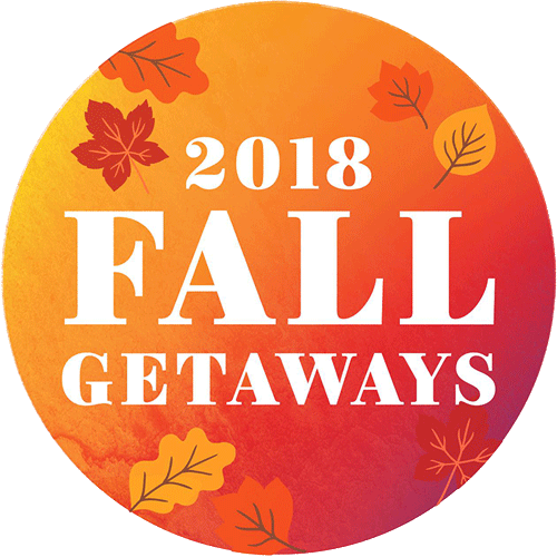 Fall Getaways 2018