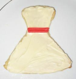 Sweet Talk: Wedding Dress 30-Minute Cookies
