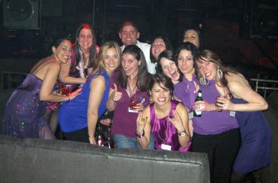 Eleni Engaged: A Purple Party