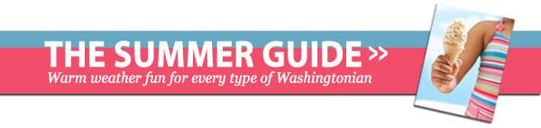 the washingtonian summer guide 2011