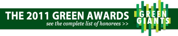 the 2011 green awards: see the complete list