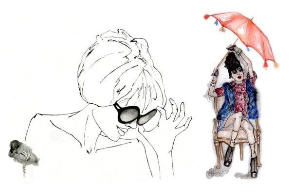 Illustrations a la Mode
