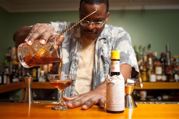 Duane Sylvestre's Home Bar
