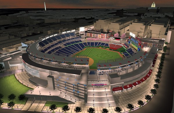 A Brand-New Ballgame: The New Stadium of the Nationals