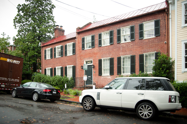 Soon to Be for Sale: Dominique Strauss-Kahn's Georgetown Home