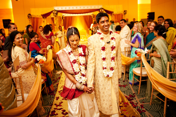 Real Weddings: Jasmine and Gautam