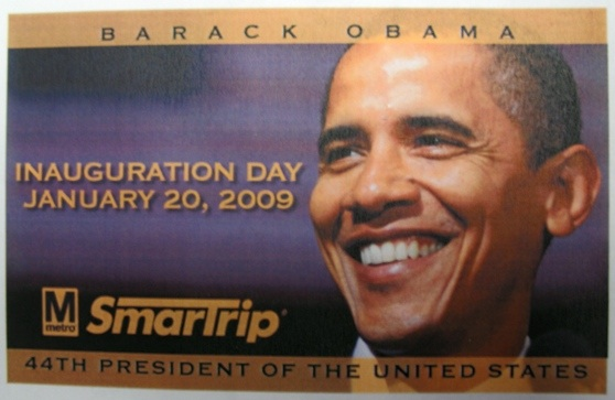 Obama Metro Cards on Sale