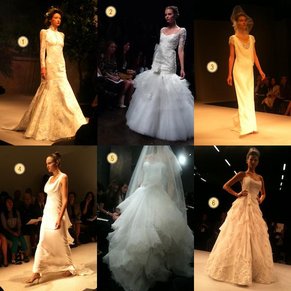 New York Bridal Market Report: Part 1