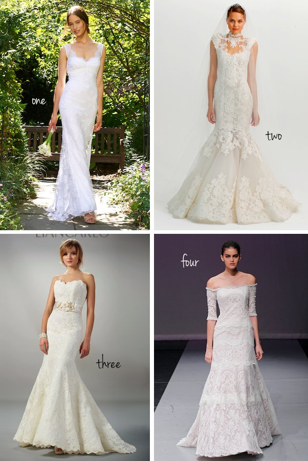 Pick Your Favorite New Lace Wedding Dress!
