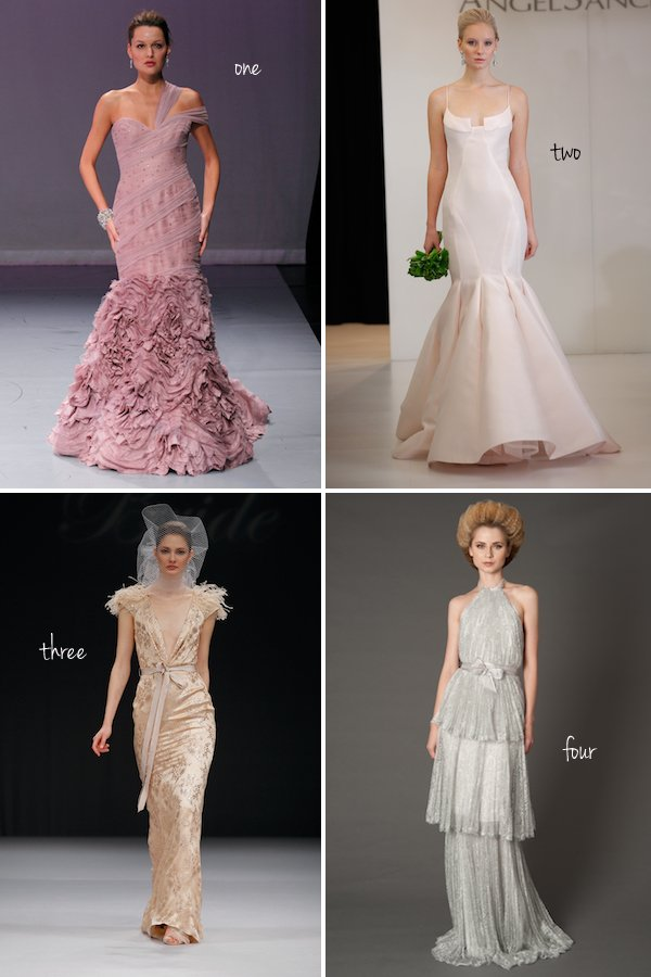 Pick Your Favorite New Colored Wedding Dress