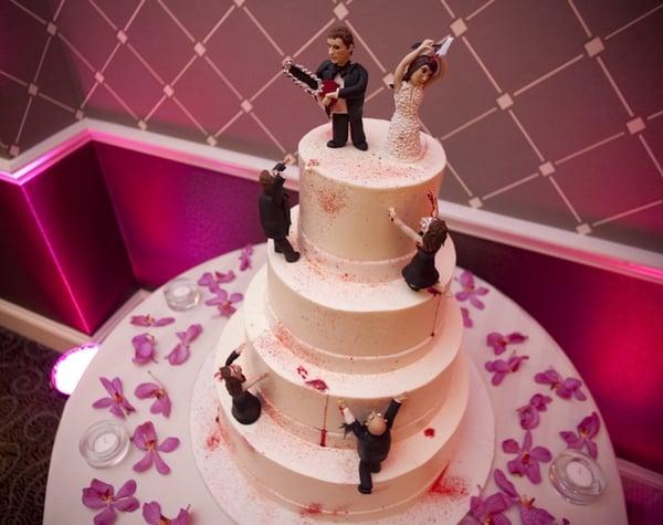 A Zombie Wedding Cake Washingtonian Dc