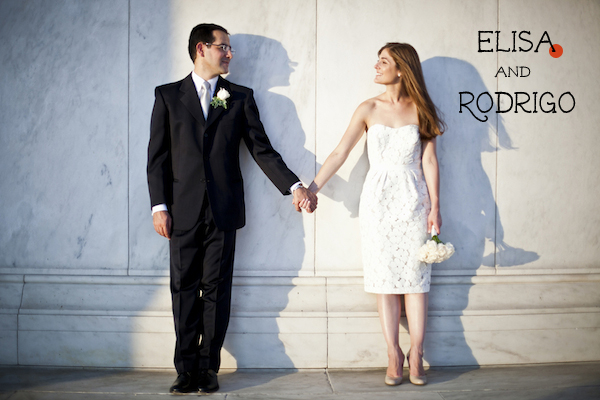 Real Weddings: Elisa and Rodrigo