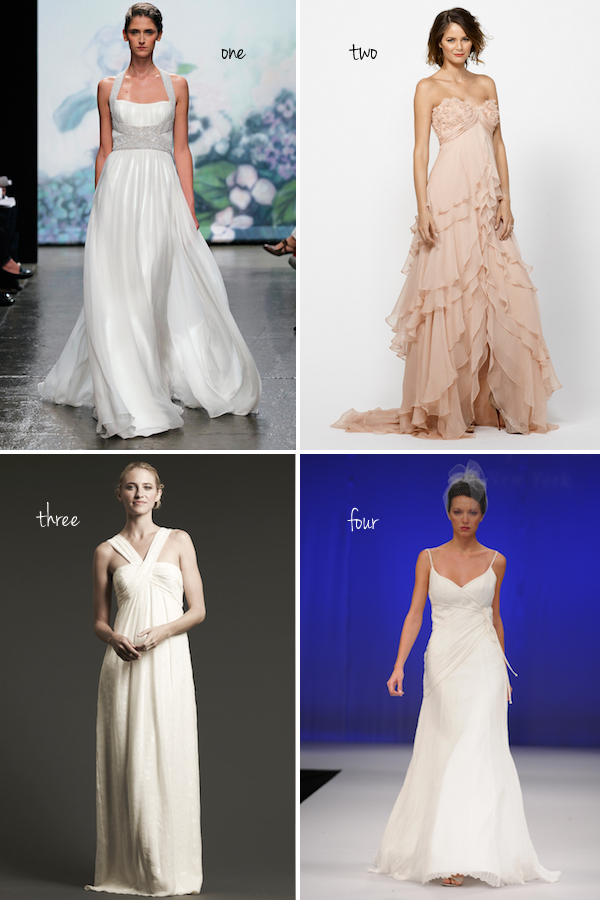 Vote for Your Favorite Beach Wedding Dress