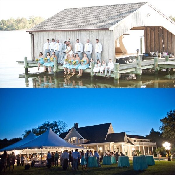 A DIY Wedding on the Eastern Shore and a Super-Spooky Event in Maryland