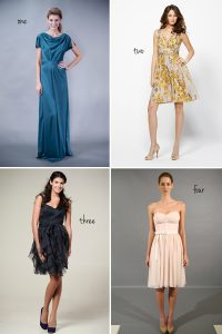 Pick Your Favorite New Bridesmaid Dress!