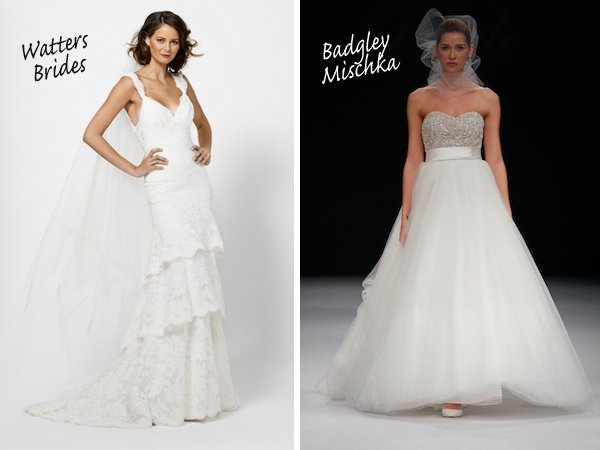 Vote For Your Favorite New Wedding Dress: The Final Two!