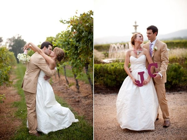 Vineyard Whimsy and a Stylish Engagement Shoot