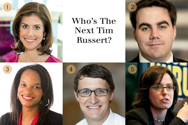 Who's the Next Tim Russert?