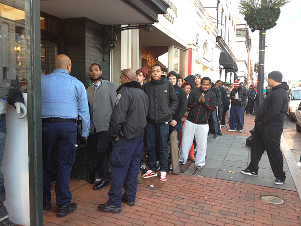 Air Jordans Release Leads to Long Lines