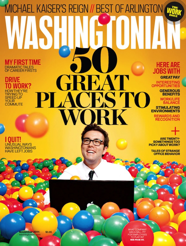 The November Issue of The Washingtonian Hits Newsstands Today