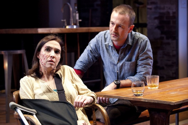"""Theater Review: """"Time Stands Still"""" at Studio Theatre"""
