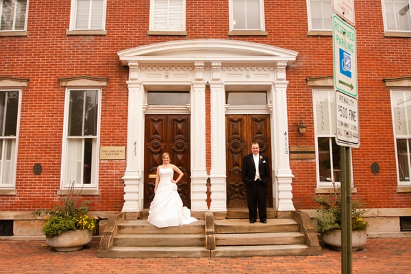 Washington Real Weddings: Sara and Bill