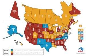 Washington Remains Top Relocation Destination