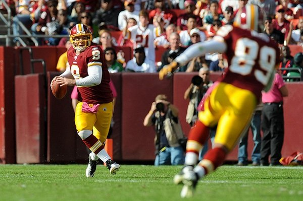 Heard at Lunch: The Redskins Have Chosen a New Quarterback