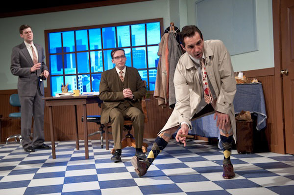 "Theater Review: ""Laughter on the 23rd Floor"" at Keegan Theatre"