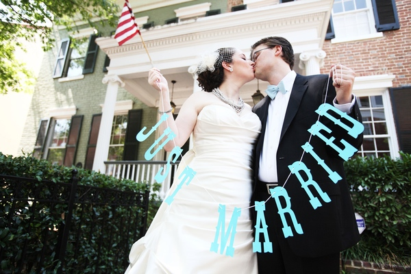 Washington Real Weddings: Rachel and Roman
