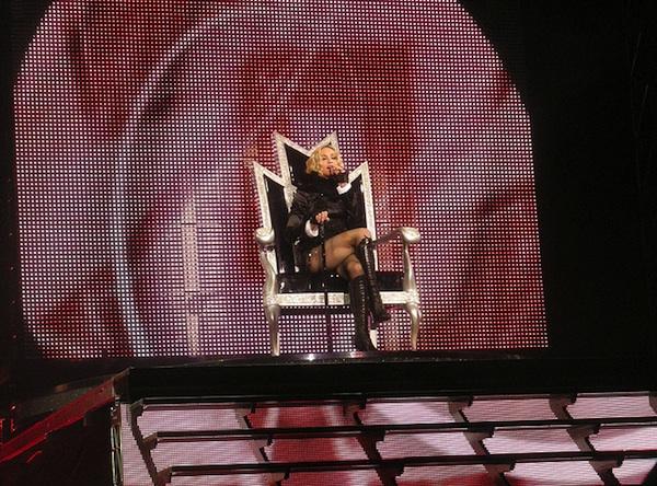 Madonna Coming to Washington in 2012