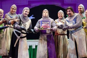 "Theater Review: ""Spamalot"" at the Warner Theatre"