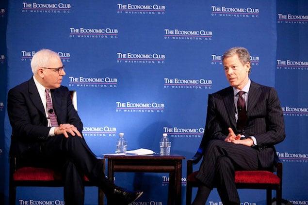 Jeff Bewkes Talks to David Rubenstein, and the Washington Biz Community Listens