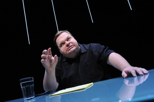 Mike Daisey Addresses Georgetown University