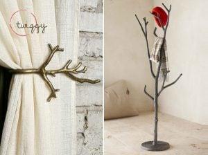 Twig-Inspired Decor