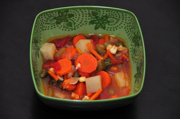 Healthy Recipe of the Week: Chunky Vegetable Soup