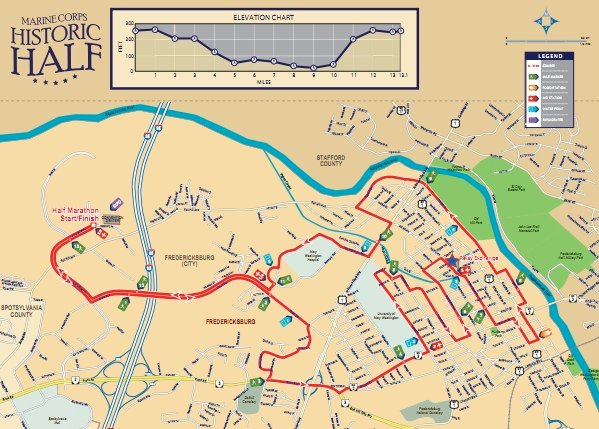 Registration Opens Today for the Marine Corps Historic Half