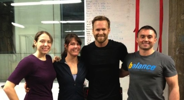 """Bob Harper of """"The Biggest Loser"""" Drops By a Local Gym for a Workout"""