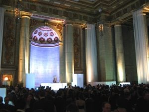Mellon Auditorium Hosts Odd Mix of Inaugural Guests for Google Ball