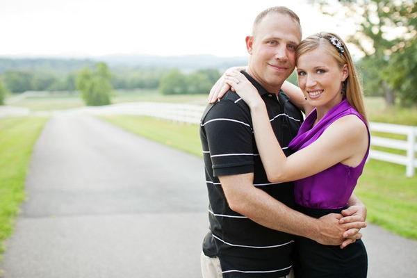 Engagement Shoot at Mount Ida Farm