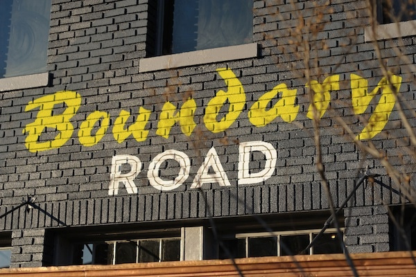 An Early Look at Boundary Road (Pictures)
