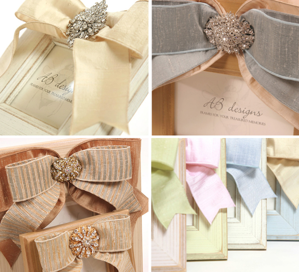For Your Bridesmaids: Richly Textured Photo Frames