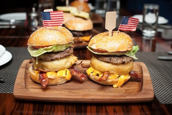 Politically Inspired Burgers at BLT Steak