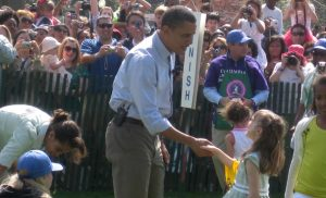 Witherspoon, Bieber, and the 'Glee' Cast Hit the White House for the Easter Egg Roll