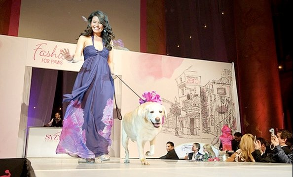 Fashion for Paws Brings Out Celebs, Furry Friends (Photos)