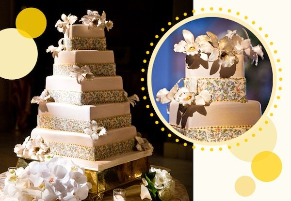 Eating the Invitation: A Wedding Cake We Love