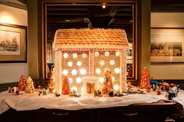 Mallory Staley's Gingerbread Mansion by the Numbers