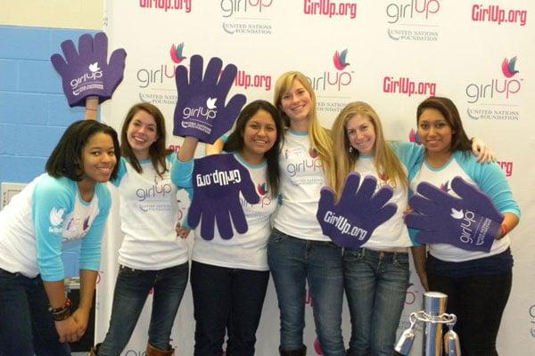 """Washington """"Girls Up"""" With the United Nations Foundation"""