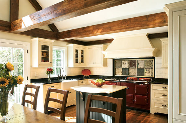 Dream Kitchens: A Country Look in the Suburbs