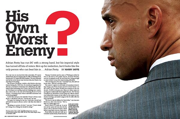 Adrian Fenty: His Own Worst Enemy?